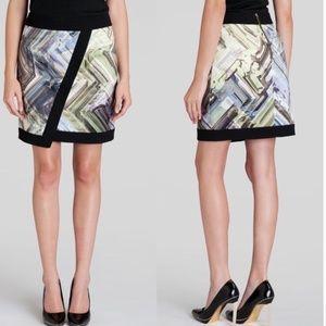 Ted Baker Lucilia Parquet Mini Skirt